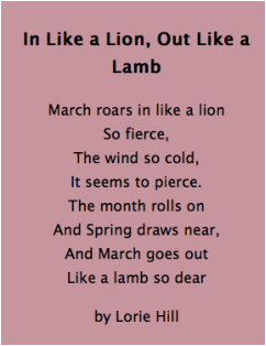 March Comes In Like And Goes Out Like >> March Comes In Like A Lion And Goes Out Like A Lamb Welcome To 2b